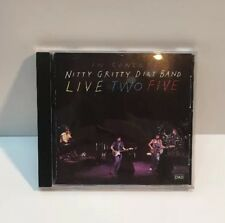 Live Two Five by The Nitty Gritty Dirt Band (CD, Jul-1991, Capitol Nashville)