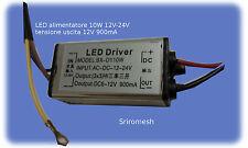 LED 10W alimentatore 12V il driver corrente costante LED DC9-24V a DC6-12V 850mA