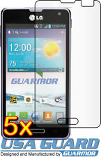 5x Clear LCD Screen Protector for Sprint Virgin mobile LG Optimus F3 LS720 VM720