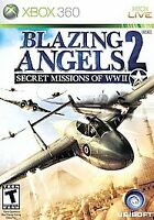 Blazing Angels 2: Secret Missions of WWII (Microsoft Xbox 360, 2007) Complete
