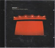 INTERPOL - turn on the bright lights CD