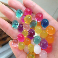 New Water bead Crystal Shape Soil Gel Ball Beads Wedding Vase Decoration Tool