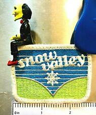 Snow Valley ~ Vintage Ski Patch ~ Running Springs, Ca ~ v.2