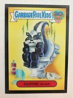Garbage Pail Kids 2015 Series 2 30th 10b DONNIE DUMP Garbage Pail Pets BLACK