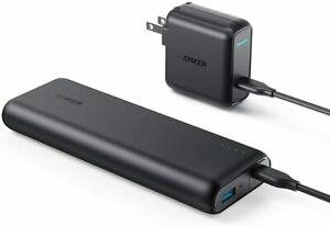 Anker 20100mAh Type C Power Bank+30W USB C PD Charger for MacBook |Refurbished