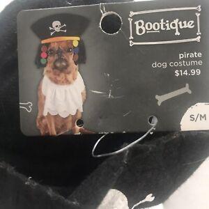 "PetCo Bootique""PIRATE"" Dog CAT Halloween Costume Dreads Ruffle Ascot Hat S/M"
