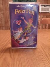 Rare 1990 Peter Pan Black Diamond Edition The Classics Collection VHS Tape 960