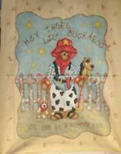 Buckaroo Baby Quilt Top Panel Fabric
