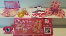Barbie I can be Mexico Toys, complete set with all Bpz