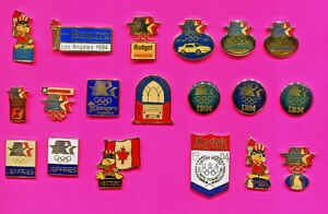 1984 LA OLYMPIC PINS GROUP #B1 PINS 19 PINS PICK 1-2-OR ALL ADD TO CART