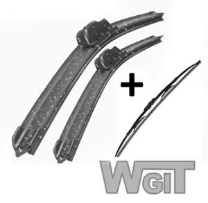 Wiper Blades Aero For Citroen Xantia WAGON 1995-1998 FRT PAIR & REAR 3 x BLADES