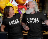 I Beat Cov Premium Tshirt, Rona 19 Pandemic Quarantine, Social Distancing Health