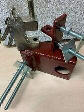 PADLOCK HOLDER BOLT ON STYLE LOCK BOX SHEDS GATES,OUT HOUSES, CABINS