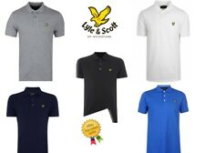 Lyle and Scott Mens Polo Shirt Short Sleeve Size S M L XL 2XL Regular Fit