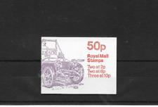 GB 1979 Rolls-Royce Silver Ghost Folded 50p Booklet - FB10B