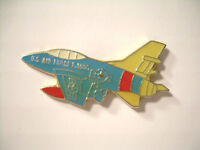 Vintage F-100C USAF Aircraft Pin from 80's Air Force Airplane