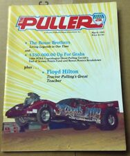 The Puller NTPA Truck Tractor Pulling Magazine Marches 1989