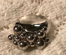 Silpada Sterling Silver Cha Cha Ring R1203 Size 9 HTF