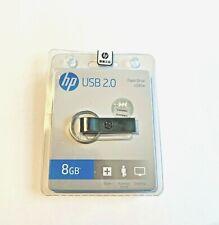 HP USB Flash Drive 8GB  Metal Pendrive.