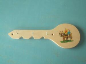Key Holder Small Key Shape Irish Donkey And Cart