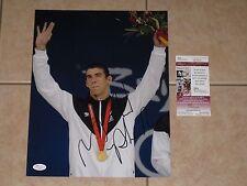 Michael Phelps signed USA Summer Olympics 11x14 photo JSA #H18021