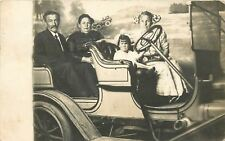 Waterloo IA Parents Ride in Studio~Stanley Steamer? Toddler Drives~Earbows 1911