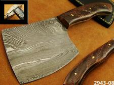 Handmade 400grams Damascus Steel Bushcraft Axe with Sheath Collectible (2943-8