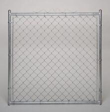 Zoro Select 4Lvn1 Chain Link Walk Gate,9 Ga,48 W X 48 In H
