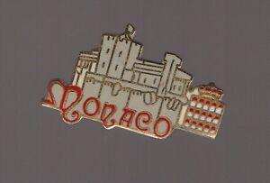 Pin's Chateau et couronne de Monaco