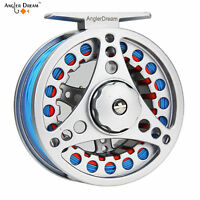 Fly Fishing Reel 3/4 5/6 7/8 WT Aluminum Fly Reel & Fly Line & Backing Leader