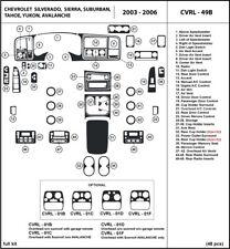 Dash Trim Kit for Chevrolet Avalanche / Chevrolet Silverado 2003-2006 interior