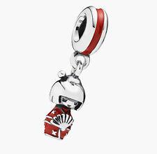 KOKESHI JAPANESE DOLL 925 Sterling Silver Solid Dangle Charm bead for bracelet