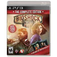 BioShock Infinite -- Complete Edition (Sony PlayStation 3, 2014) Complete