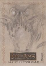 "Lord of the Rings Masterpieces II - Lee Kohse ""Balrog"" Sketch Card"