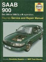 SAAB 900 2.0 ( INCL TURBO ) & 2.3 PETROL 3- & 5- DOOR 1993 - 1998 REPAIR MANUAL