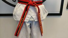 Customized Taekwondo Belt, Martial Arts Belts (Min 4 orders required)