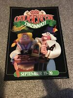 1987 Oktoberfest Zinzinnati Print; Cincinnati, Ohio; Beer; Breweries; Germany