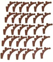 LEGO LOT OF 30 NEW REDDISH BROWN ARCH CASTLE PIECES 1 X 5 X 4 TREE BRANCH