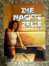 NACKTE ZELLE / Extremities 2- A1-FILMPOSTER KINO - German 1-Sheet ´88 NAKED CELL