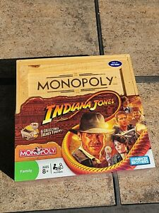 Steven Spielberg George Lucas INDIANA JONES MONOPOLY GAME New& RARE-Ltd Ed crate