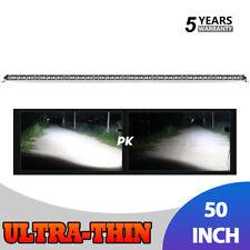 "50""inch 3080W LED Light Bar Flood Spot Combo Driving Truck for Boat SUV ATV 52"""