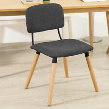 SoBuy® Padded Seat Kitchen Dining Chair Home Office Chair Dark Grey FST54-DG,UK