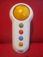 Xbox 360 SCENE IT WIRELESS BUZZER Big Button Pad Yellow Microsoft IR Controller