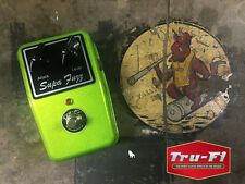 Tru-Fi Supa Fuzz Guitar Pedal in Anti-Freeze Green - NEW - Auth - Gift