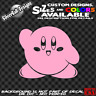 KIRBY Custom Vinyl sticker Phone Laptop Car Window 3DS NES SNES Switch Nintendo