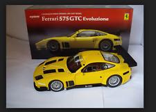 Ferrari 575 GTC Evoluzione Yellow 08392c Kyosho 1/18