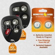 2 Remote For 2000 2001 2002 2003 2004 2005 Pontiac Sunfire Keyless Entry