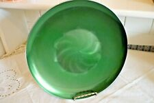 Large 1960 Olden Enamel Aluminium Shallow Bowl Made In Norway