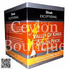 Dilmah Ceylon Tea - Ceylon Black Tea PEKOE Grade Tea Bags