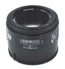 MINOLTA MAXXUM AF / SONY A Mount 50mm 1:1.7 Lens .